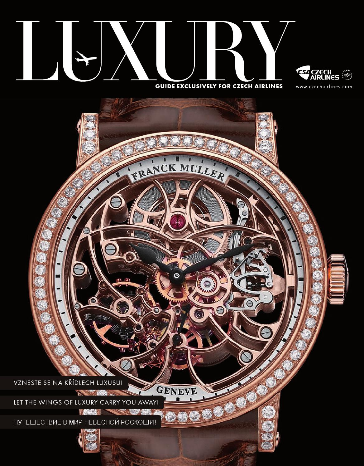 de8937ddf Luxury Guide exclusively for Czech Airlines 02 2015 by TomDesign - issuu