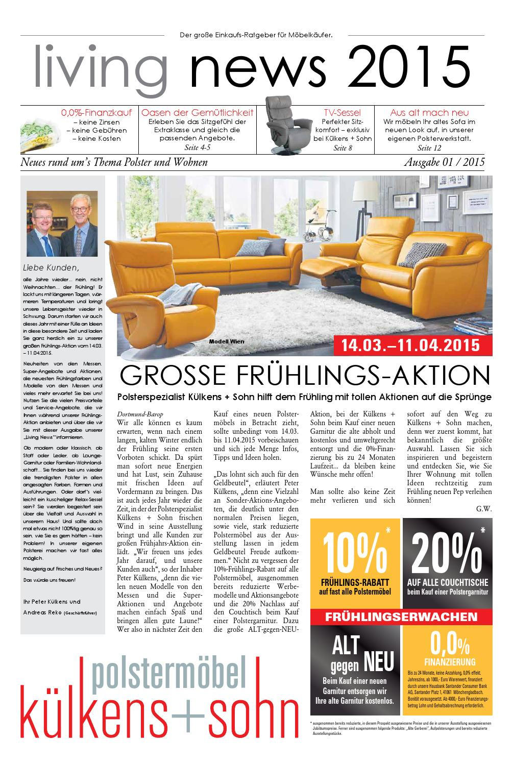 kuelkens hauszeitung 0315 by perspektive werbeagentur issuu. Black Bedroom Furniture Sets. Home Design Ideas