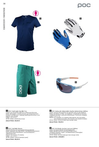 POC Radtrikot Trail Light WO Tee