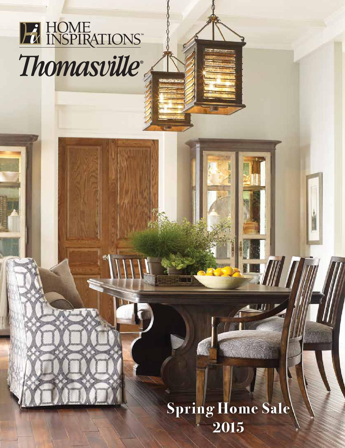 Home Inspirations Thomasville Spring Home Sale 2015 By