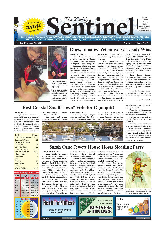WS Feb. 27, 2015 by Weekly Sentinel - issuu