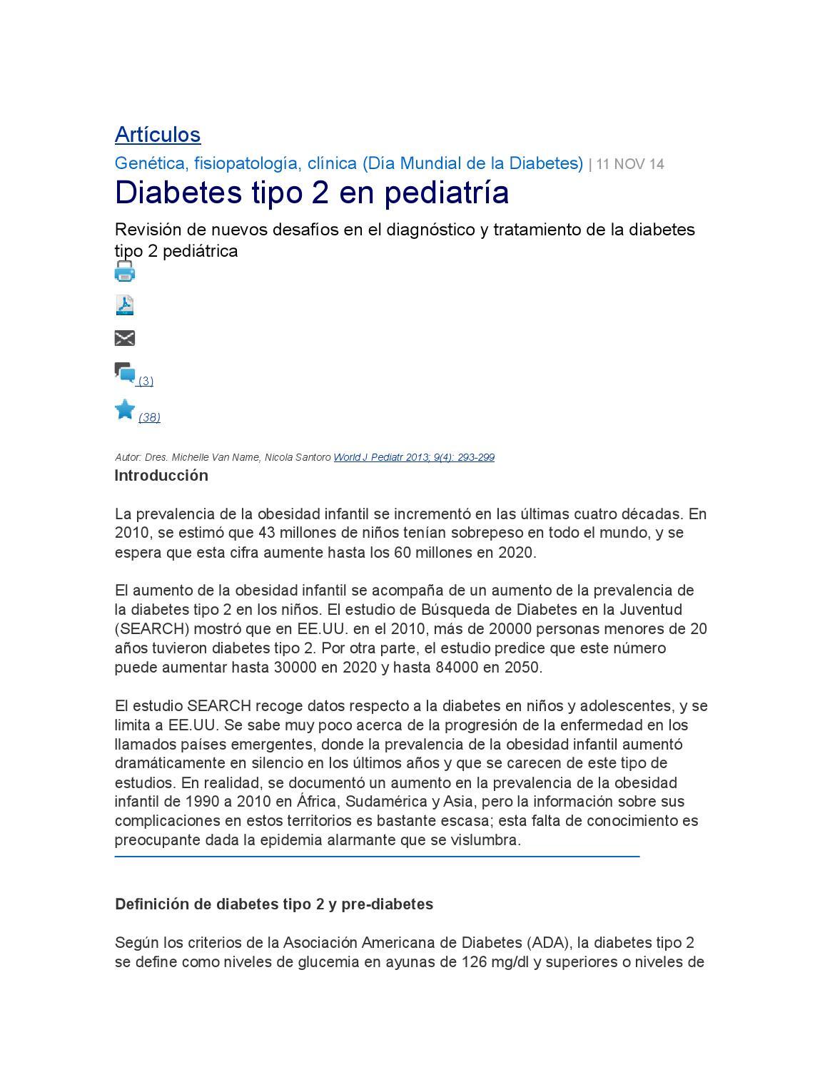 obesidad y diabetes fisiopatología y tratamiento