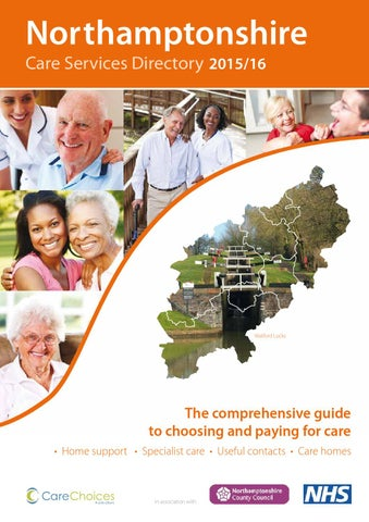 Northamptonshire Care Services Directory 2015/16