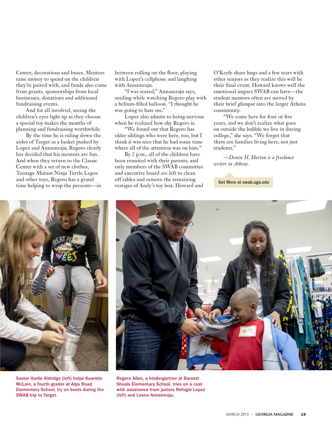 Georgia Magazine March 2015