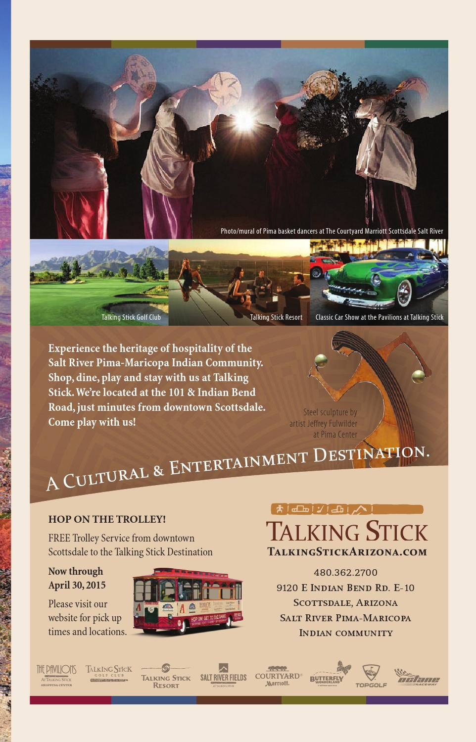 Arizona KEY Travel Magazine March By Arizona KEY Travel - Pavilions at talking stick car show