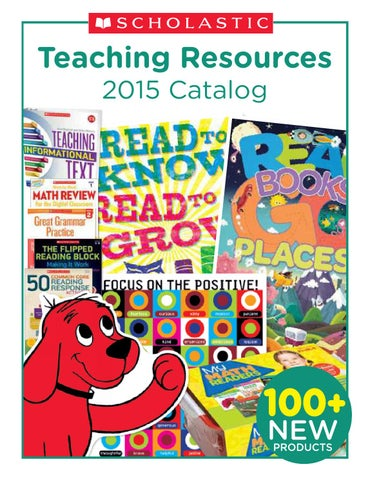2015 Scholastic Teaching Resources By Garner Group Educational Sales