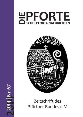 DIE PFORTE Nr. 67/2014 by David Ortmann - issuu