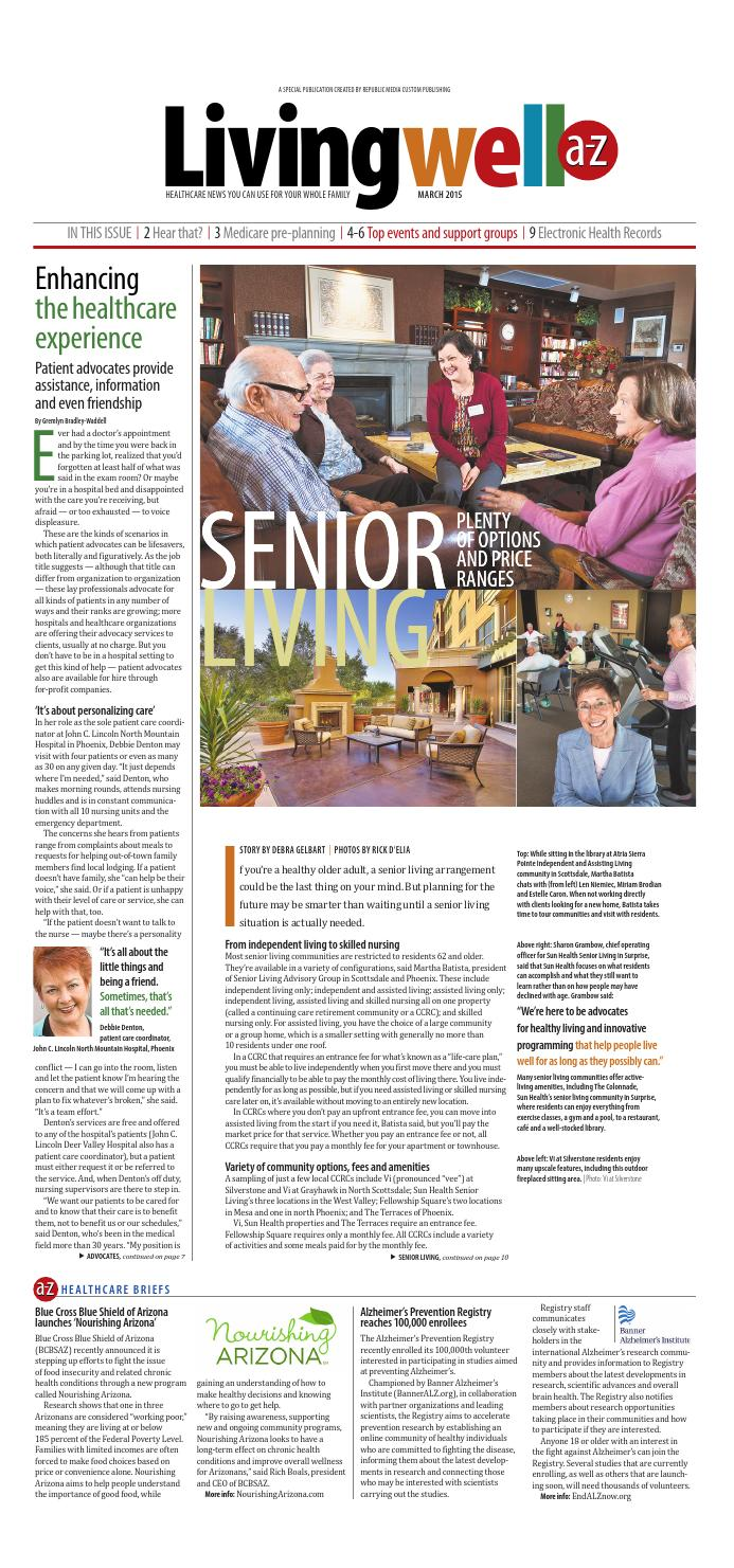 Livingwell March 2015 by Republic Media Content Marketing