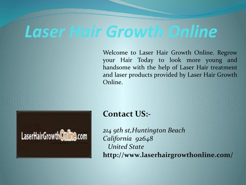 Laser hair growth online by Laser Hair Growth Online - issuu