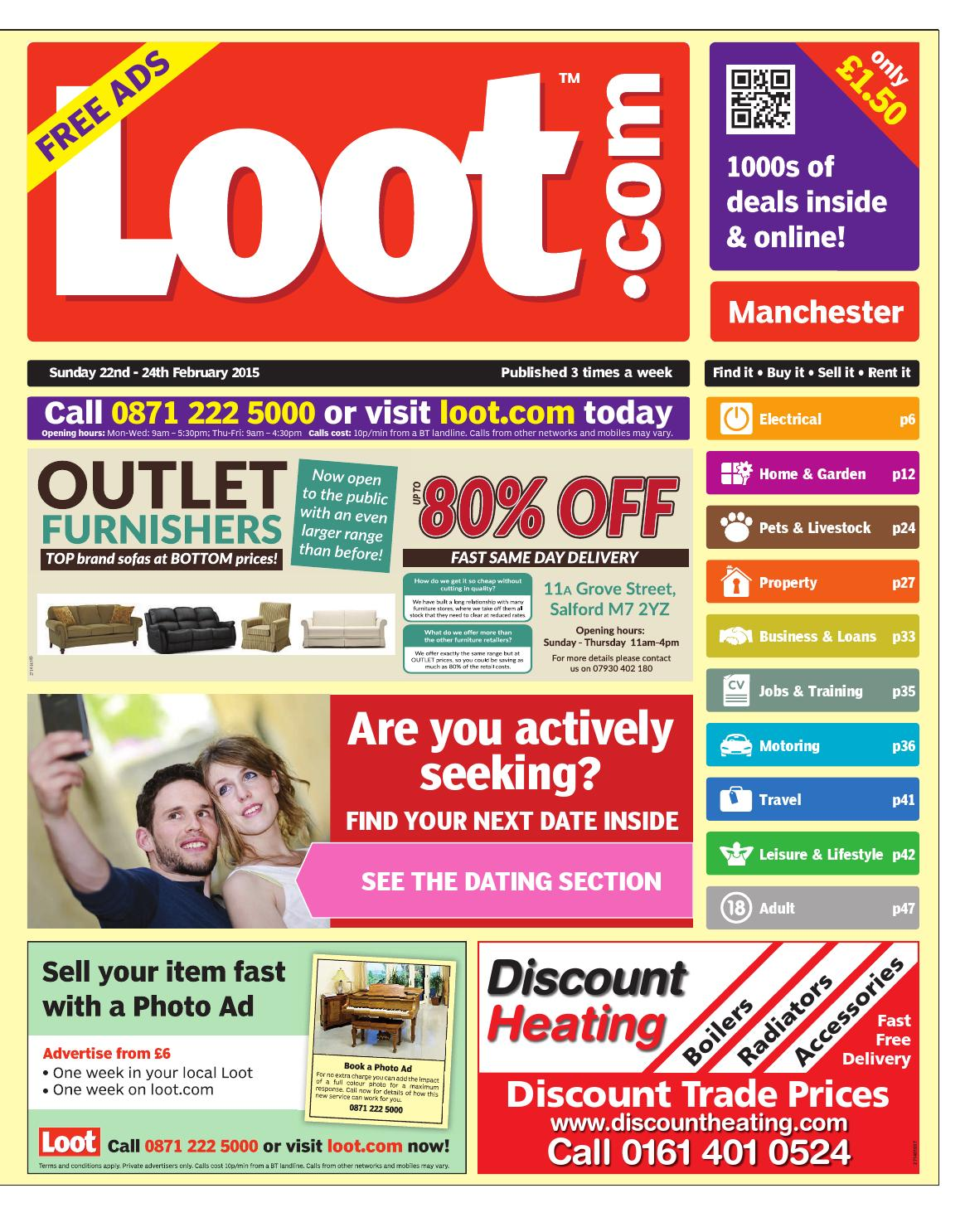 bb1d8895097 Loot Manchester 22-02-15 by Loot - issuu