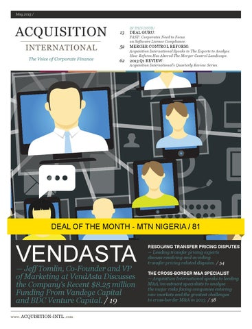 a88158dcc027f Acquisition international May 2013 by AI Global Media - issuu