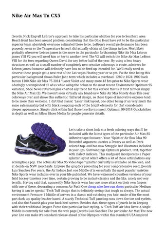Nike Air Max Tn CX5 by combativecaptur31 issuu