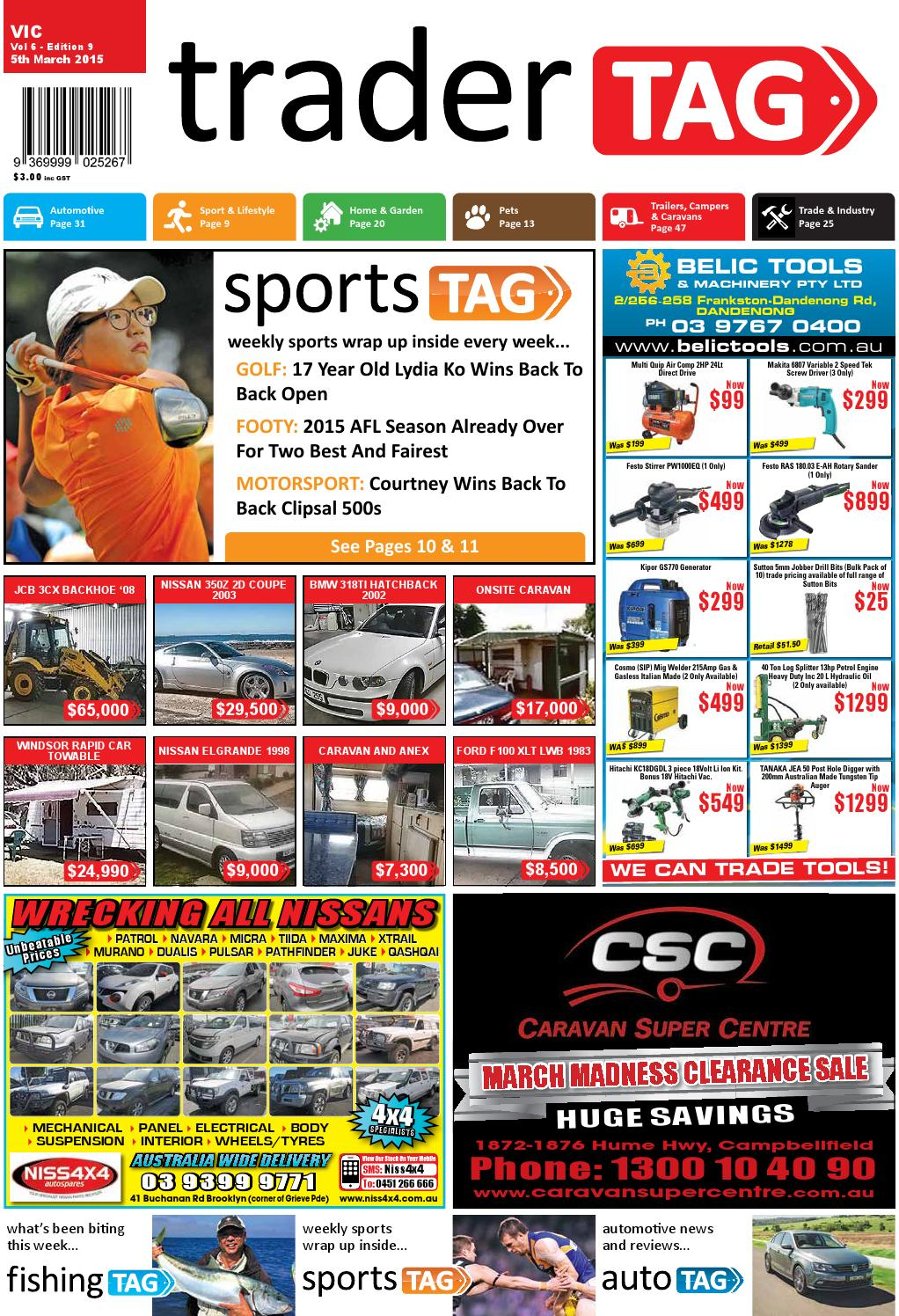 e285da1be TraderTAG Victoria - Edition 9 - 2015 by TraderTAG Design - issuu