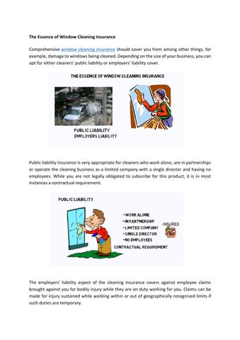 Attractive The Essence Of Window Cleaning Insurance