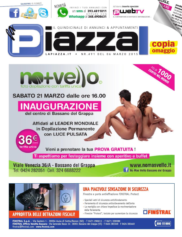 9100373581 Lapiazza491 by la Piazza di Cavazzin Daniele - issuu
