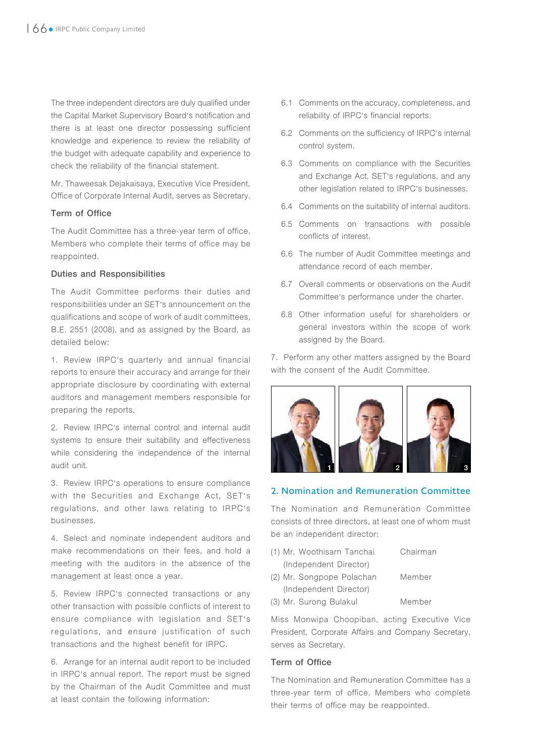 IRPC: Annual Report 2014 by orapan shareinvestor - issuu
