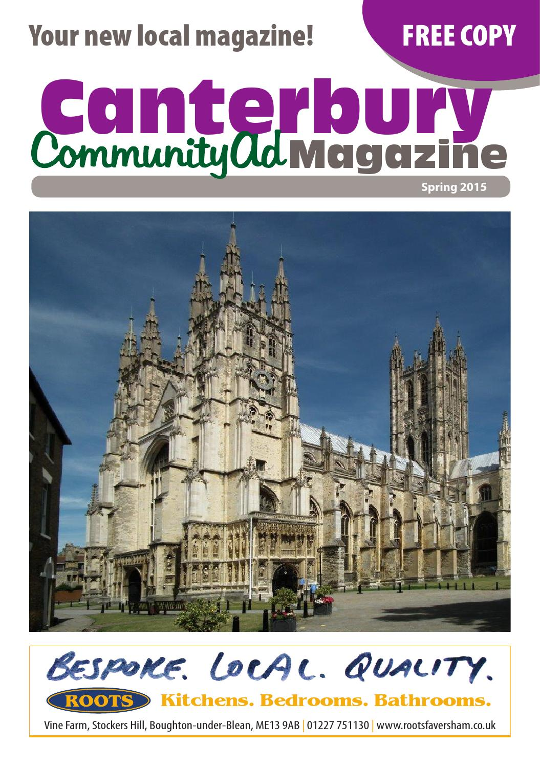 Canterbury CommunityAd Magazine by kelly Stacey - issuu
