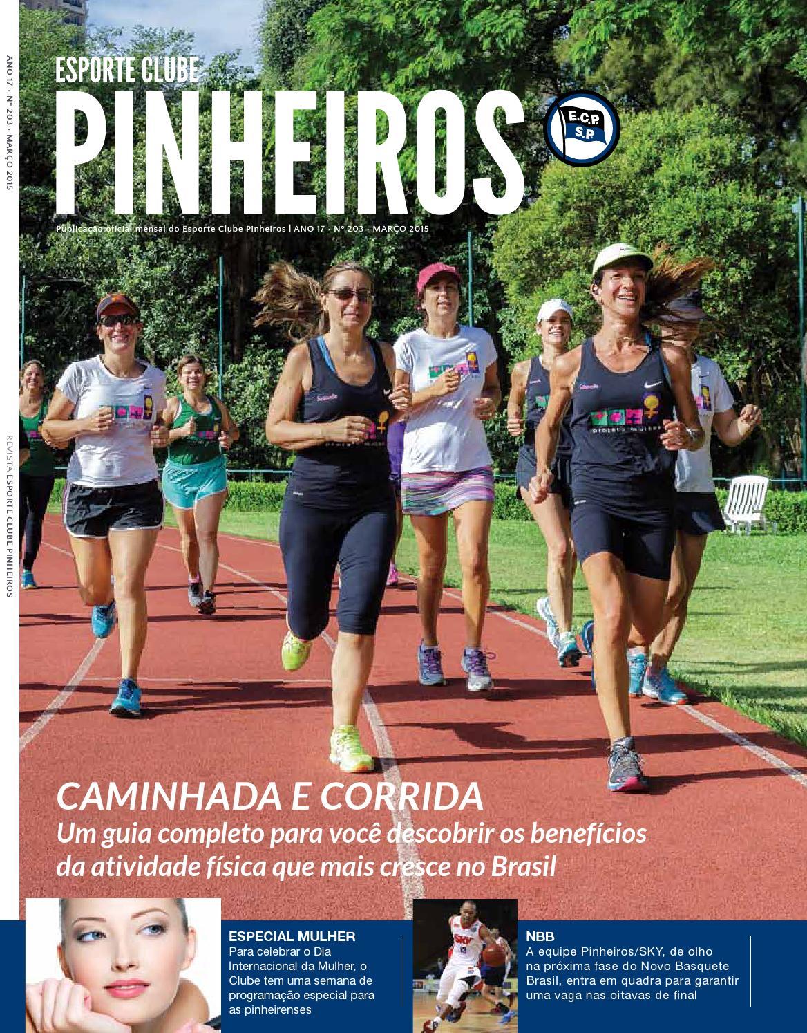 Revista n° 203 Março 2015 by Esporte Clube Pinheiros - issuu dd71d7af93697