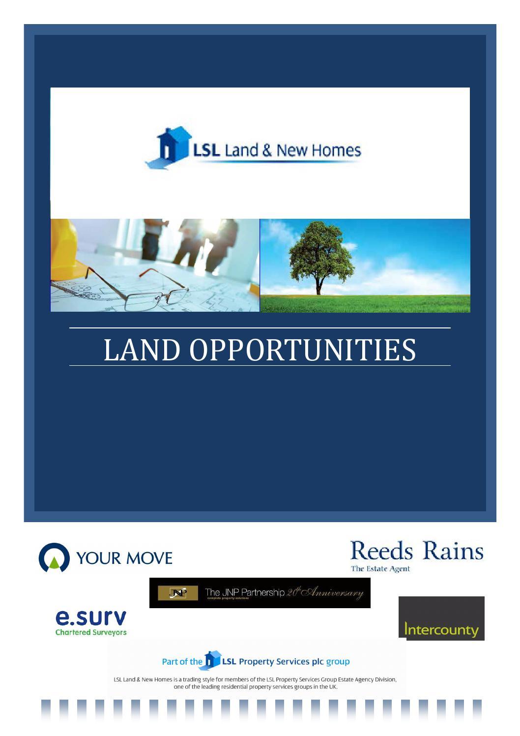 LSL Land List Feb 2015 by LSL Land & New Homes - issuu