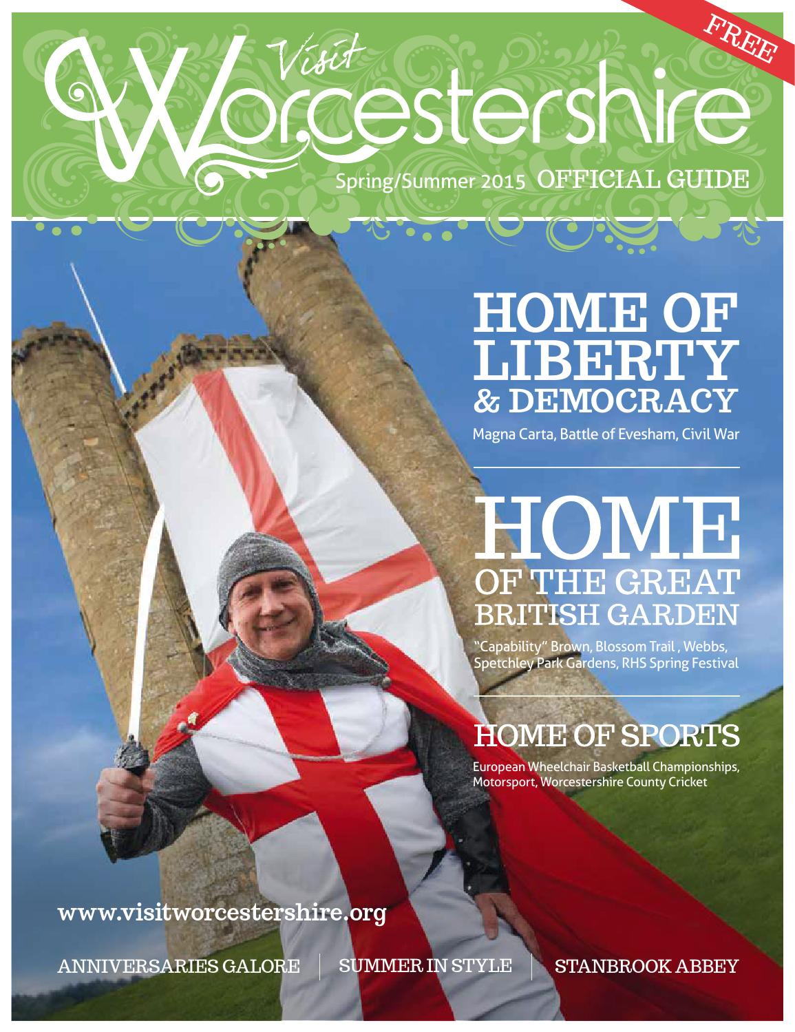 2015 Spring and Summer Visit Worcestershire Guide by Visit ...
