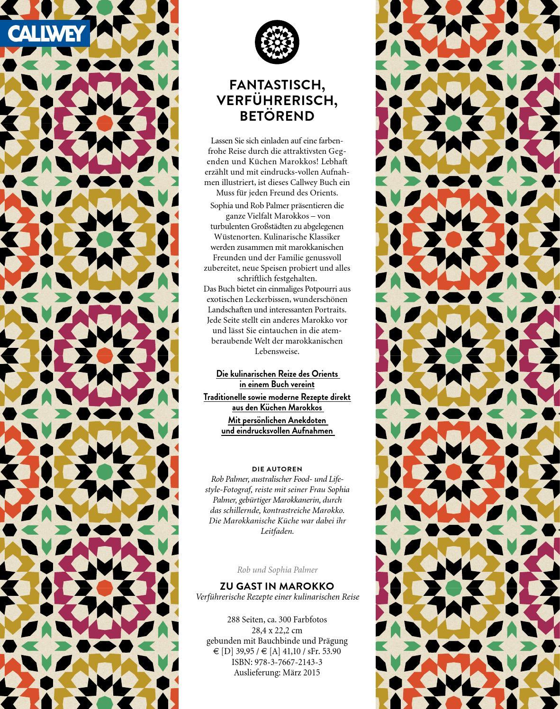 Marokkanische Küche Buch | Palmer Zu Gast In Marokko By Georg D W Callwey Gmbh Co Kg Issuu