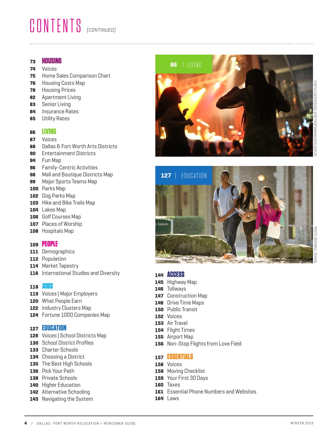 Dallas-Fort Worth Relocation + Newcomer Guide - Winter 2015 by ...