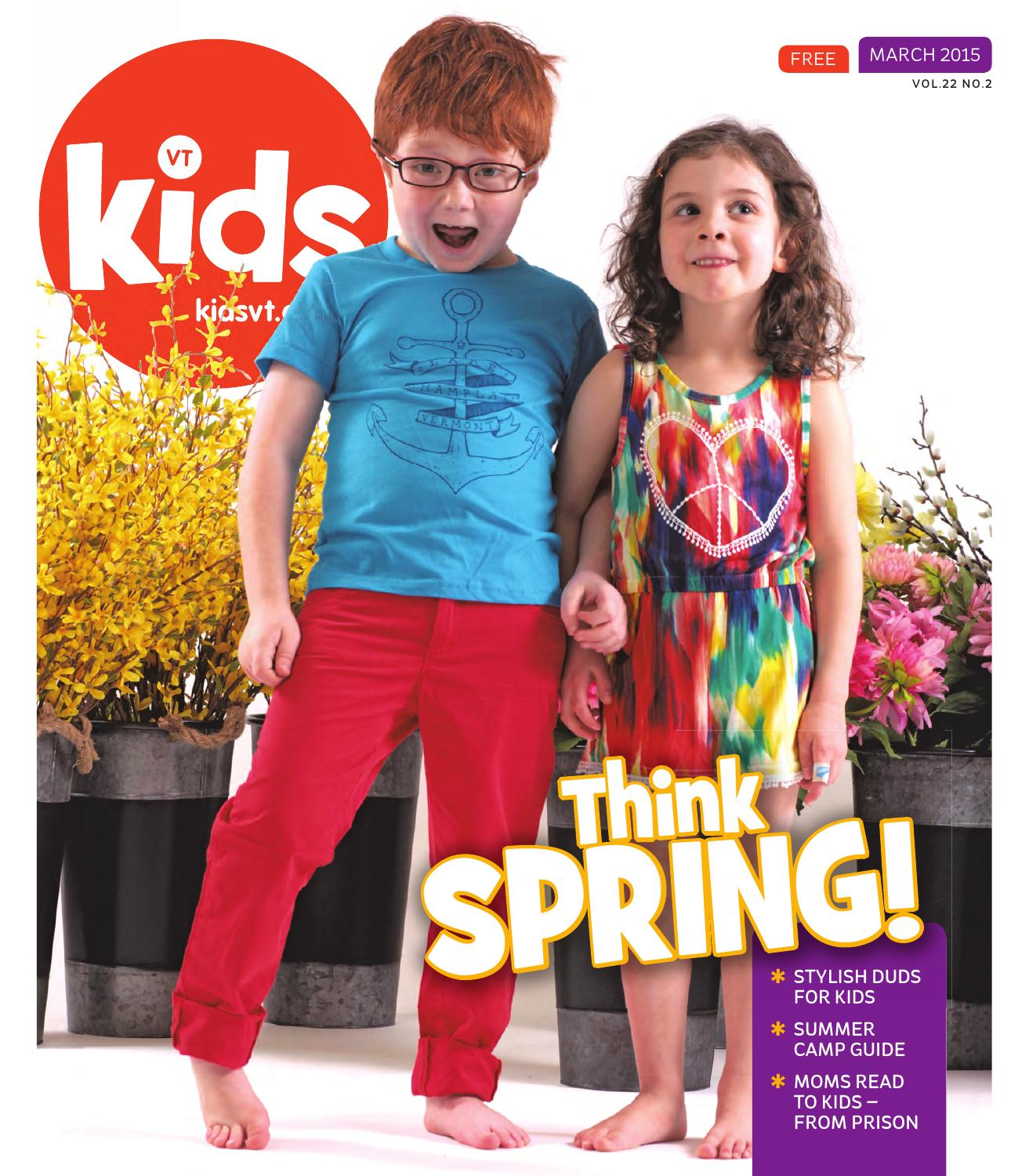Kids Vt March 2015 By Issuu Mom N Bab Blouse Emily Pink Size 4t
