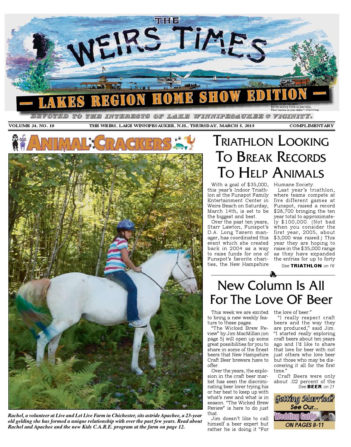 Company Times by Publishing 030515 Weirs Weirs The issuu WDHIE29Y