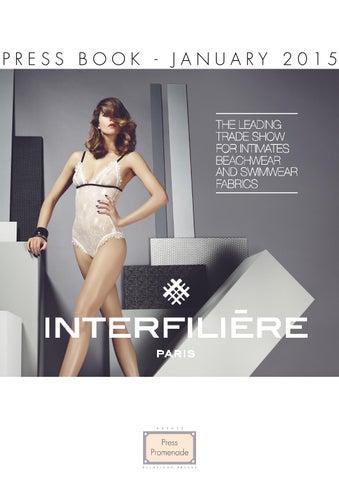 top fashion 79a35 37c12 Press book - Interfilière Paris by Claire CORREIA SANTOS - issuu