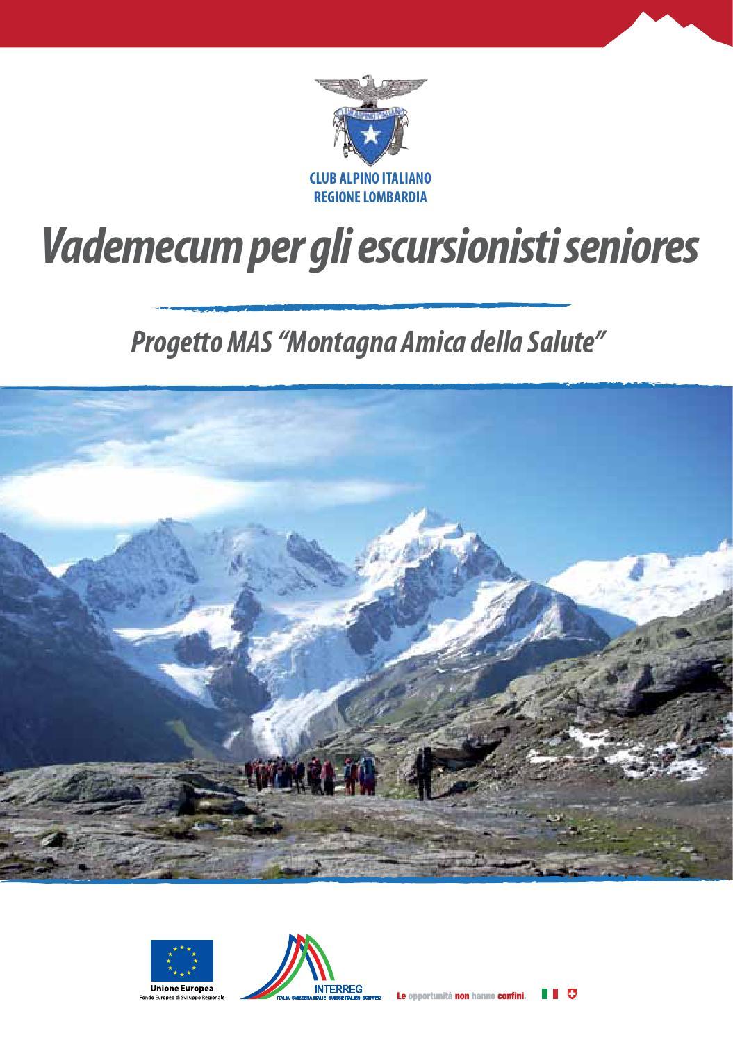 Vademecum Per Gli Escursionisti Seniores By Cai Regione Lombardia Issuu