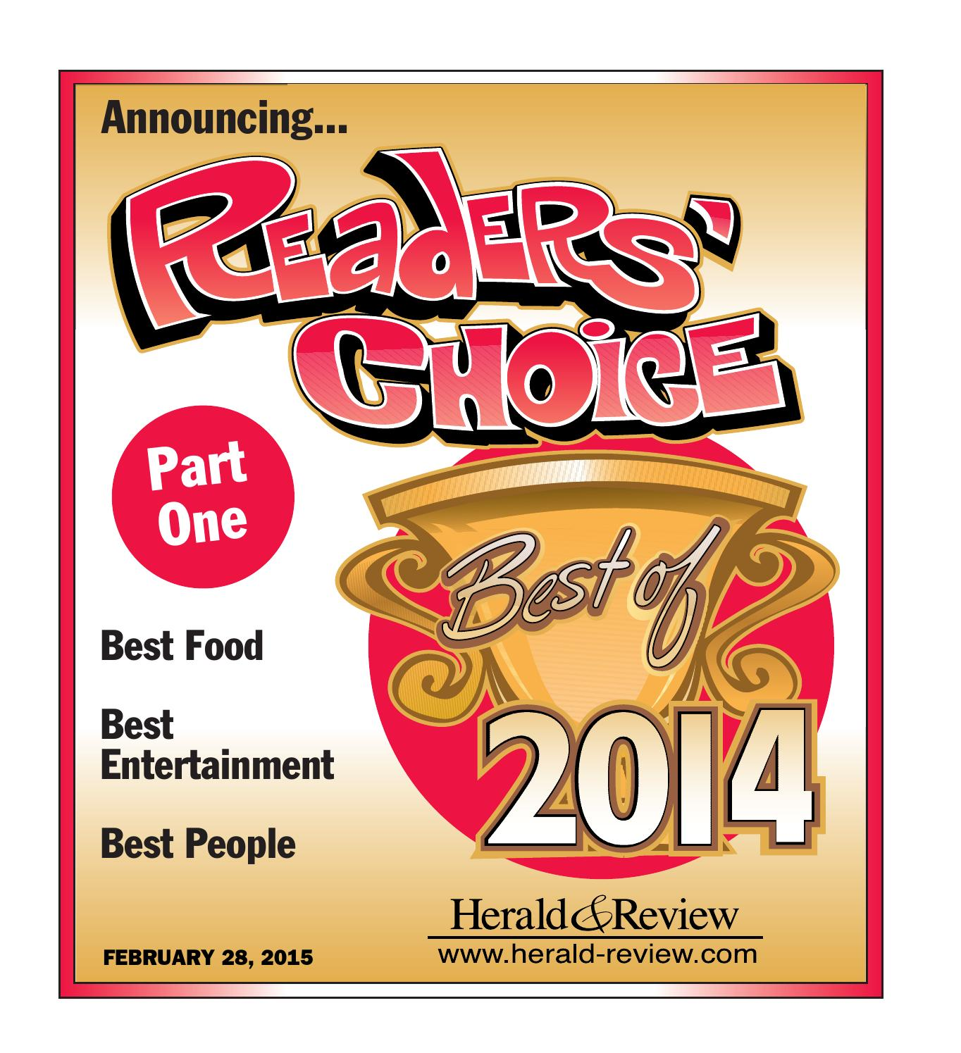 Readers  Choice 2014 by Herald   Review - issuu 0d40cb9a9c44