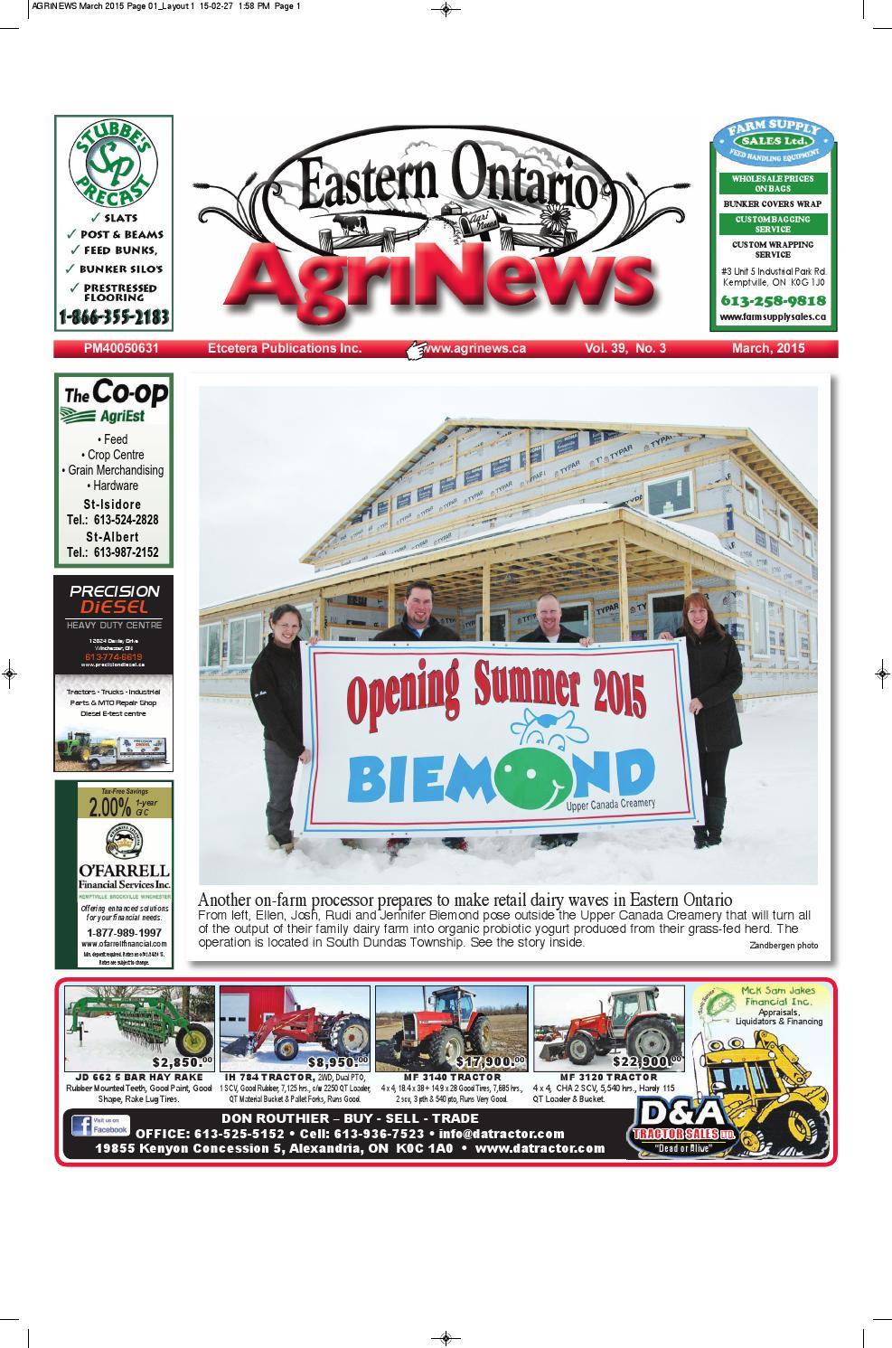 AgriNews March 2015 by Robin Morris - issuu