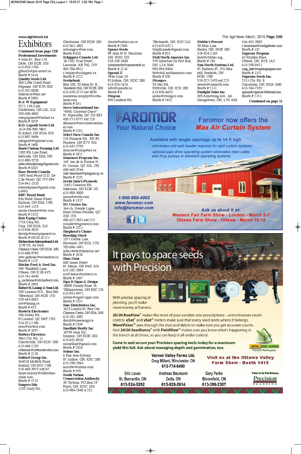 AgriNews March 2015 by Robin Morris - issuu