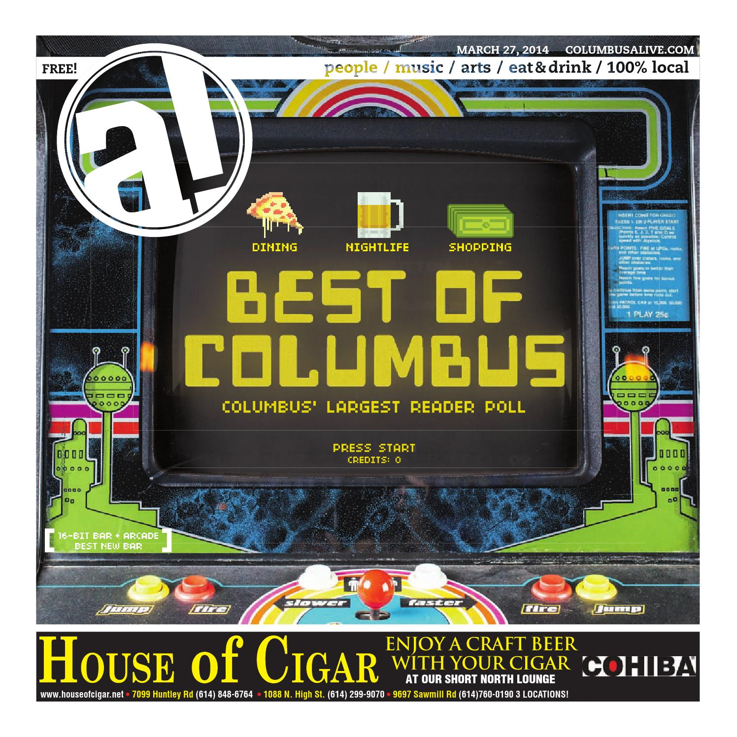 Columbus Alive: 03/27/2014 by The Columbus Dispatch - issuu