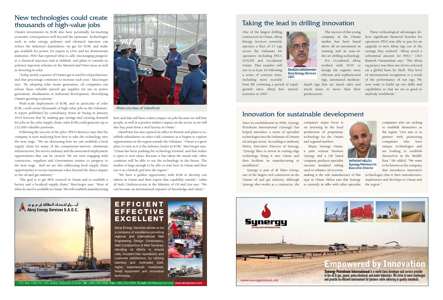 Oman- A New Chapter in History by Elite Reports - issuu
