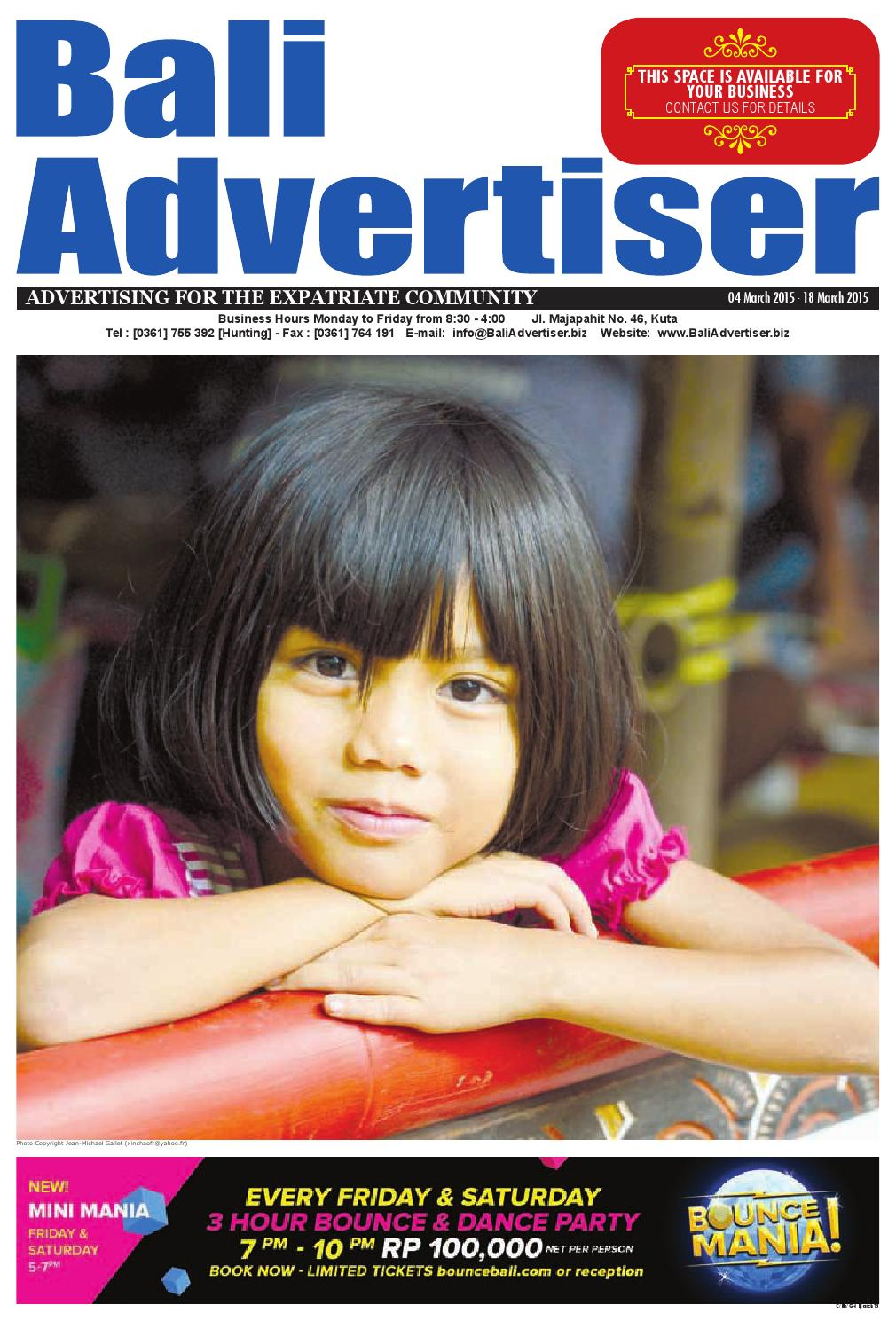 BA_04 March 2015 by Bali Advertiser - issuu