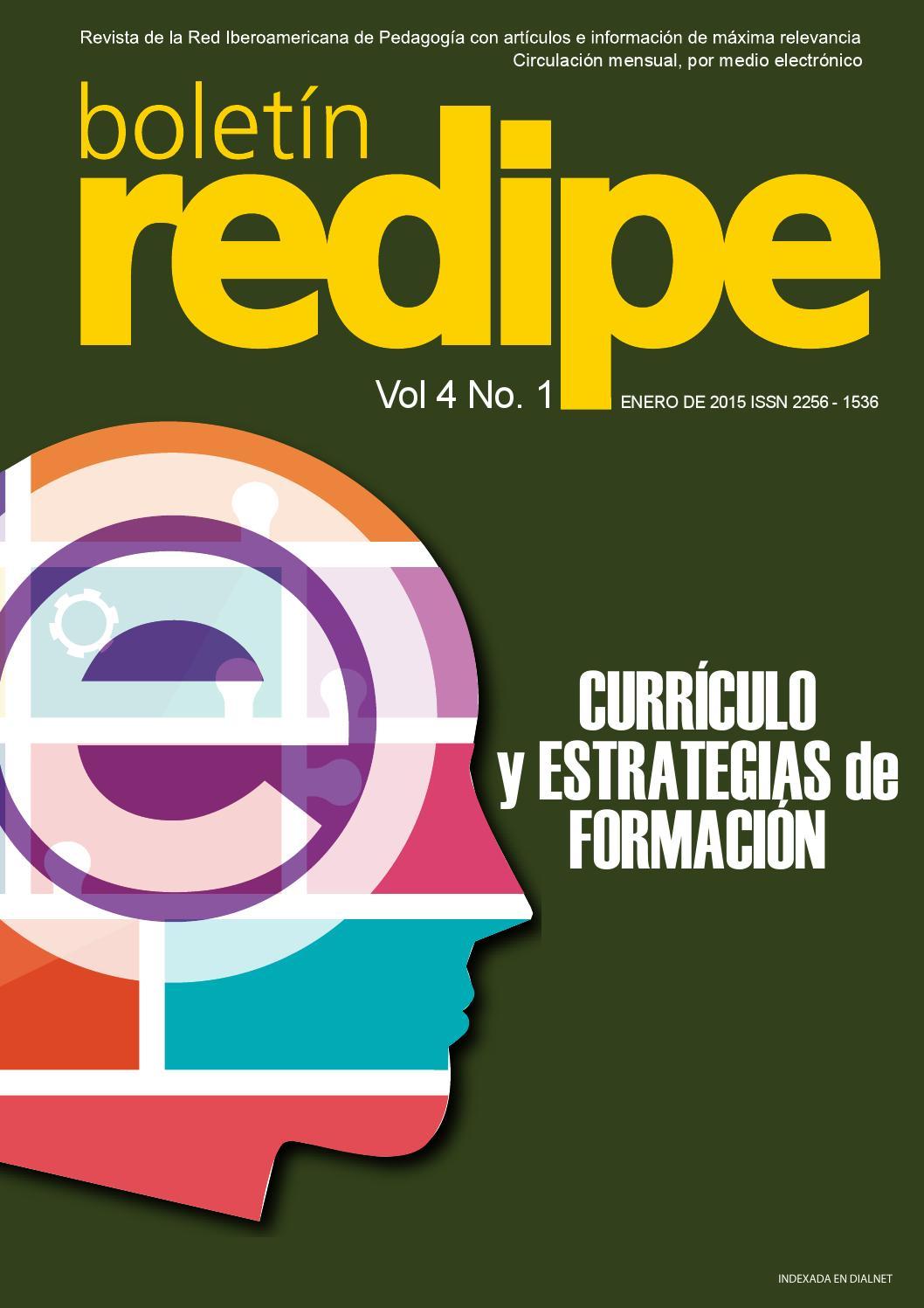 Boletin Vol4 Ed1 by REDIPE - issuu