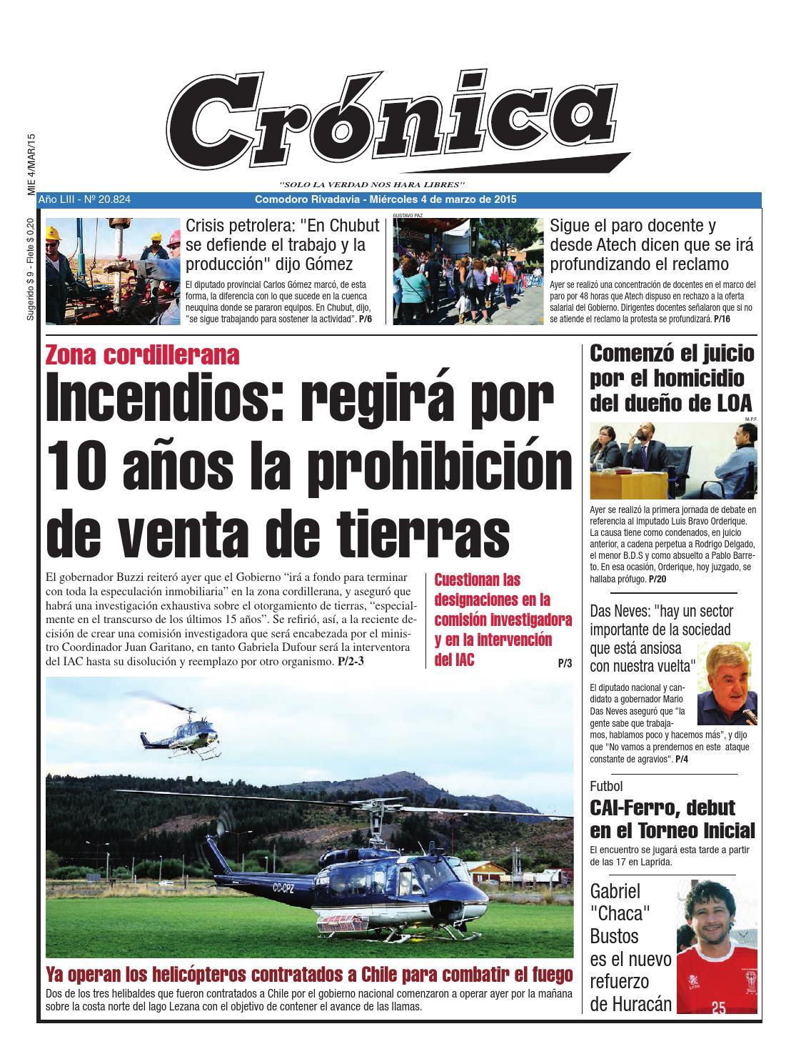 66838b614fbefbf7a41c751ebdd476bf by Diario Crónica - issuu