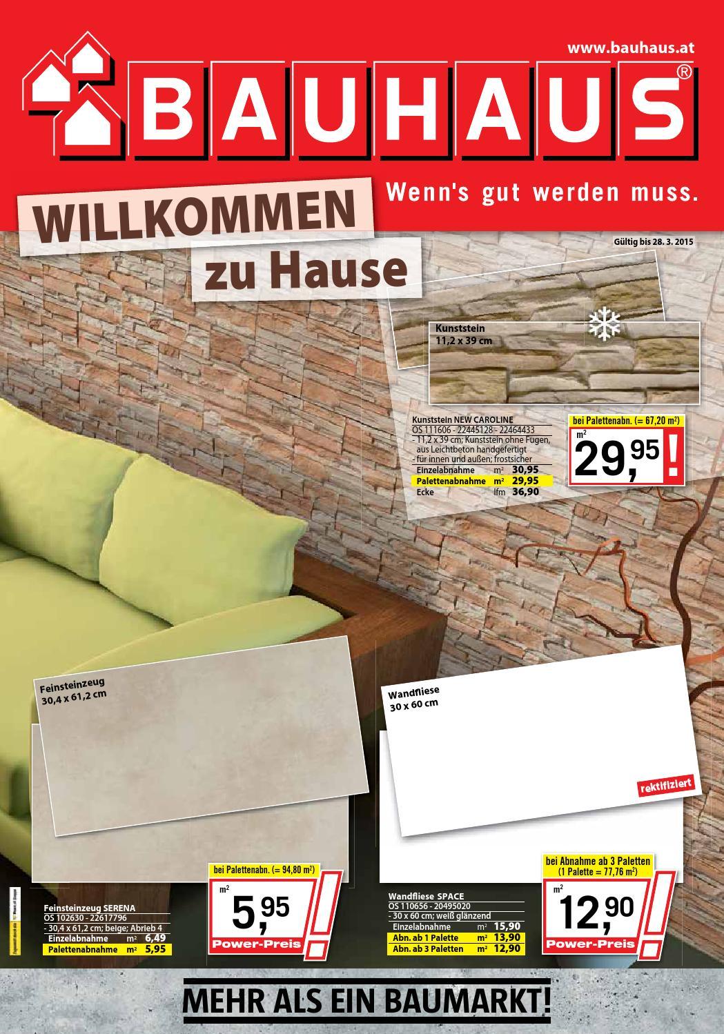 bauhaus angebote 2 28marz2015 by issuu. Black Bedroom Furniture Sets. Home Design Ideas