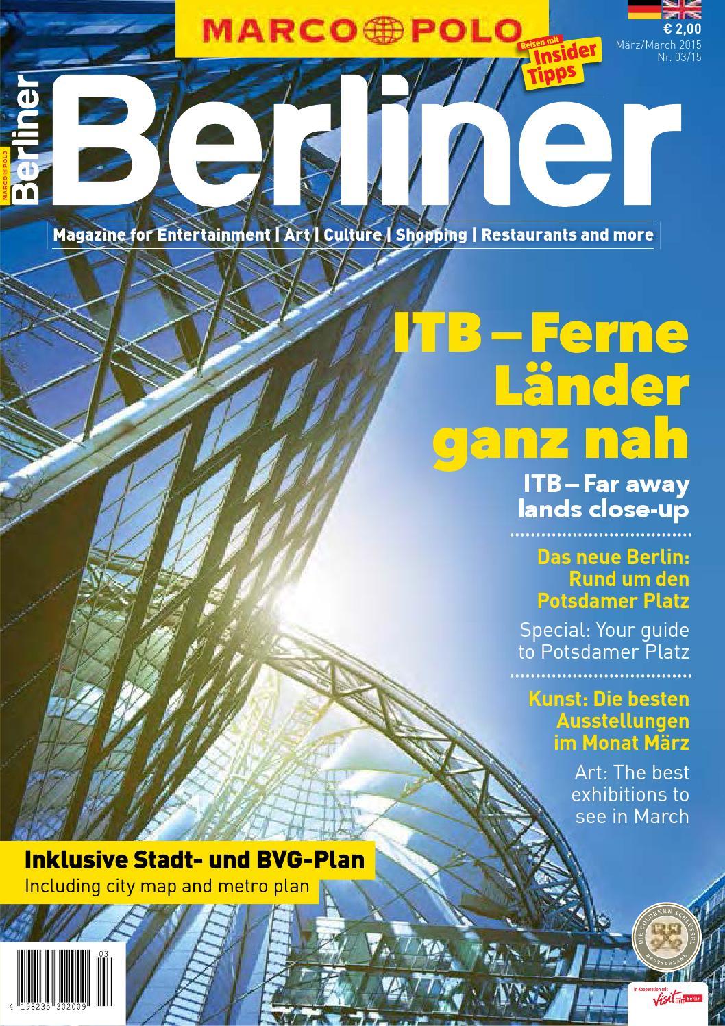 MARCO POLO Berliner 02/15 by Berlin Medien GmbH - issuu
