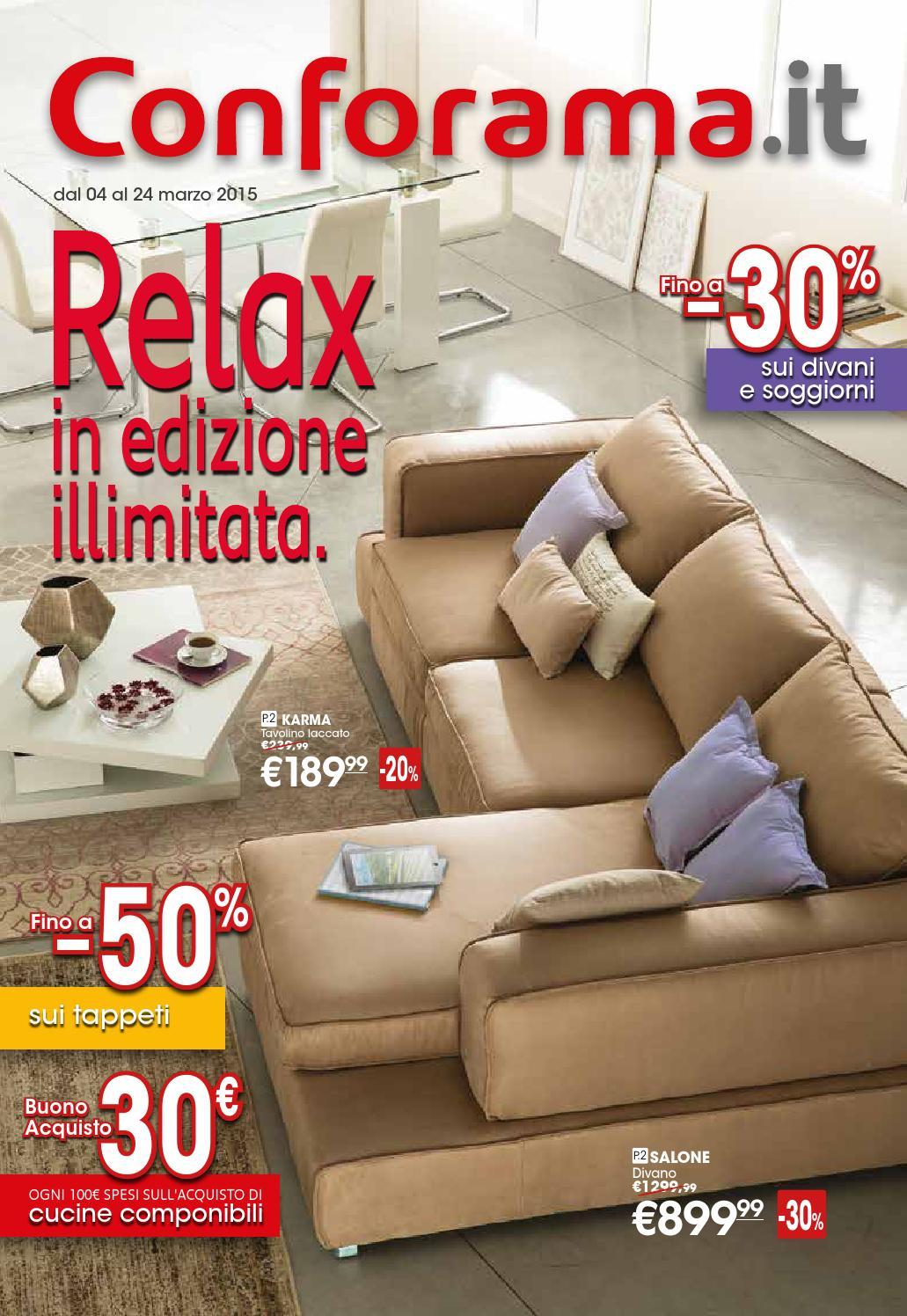 Conforama volantino 4 24marzo2015 by CatalogoPromozioni.com - issuu
