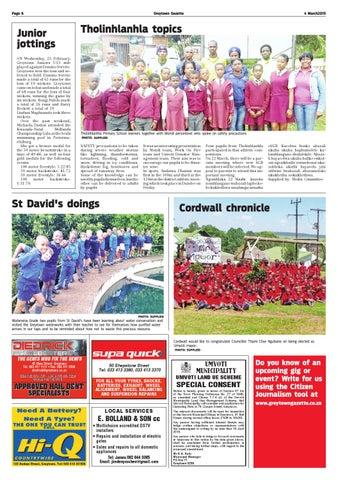 Greytown Gazette 20150304 by Greytown Gazette - issuu