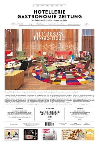 HG-Zeitung 6/2015 by Hotellerie_Gastronomie_Verlag - issuu