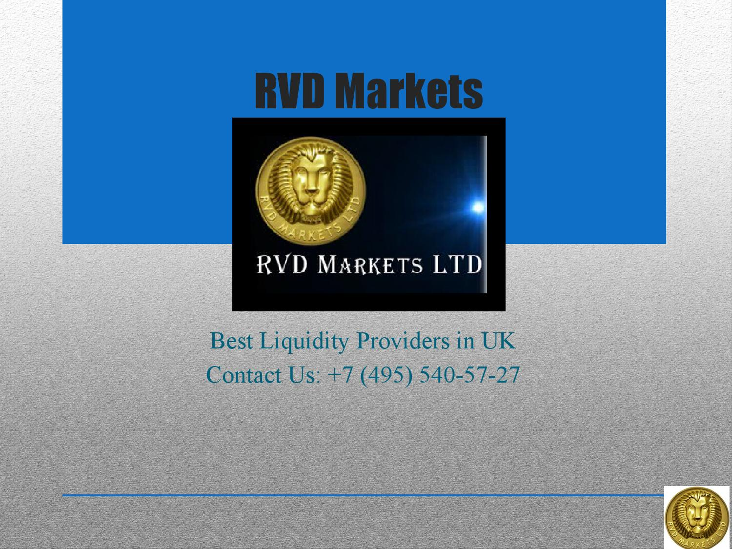 Best liquidity providers forex