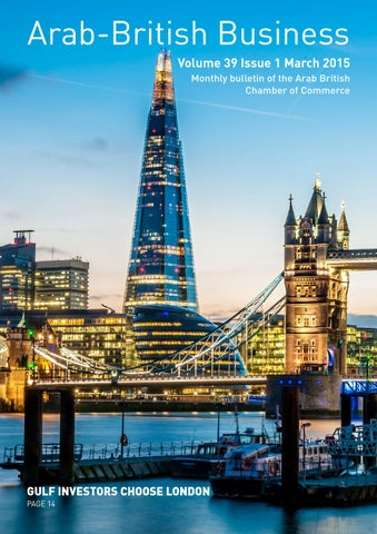Arab British Chamber of Commerce Newsletter 17 by Distinctive