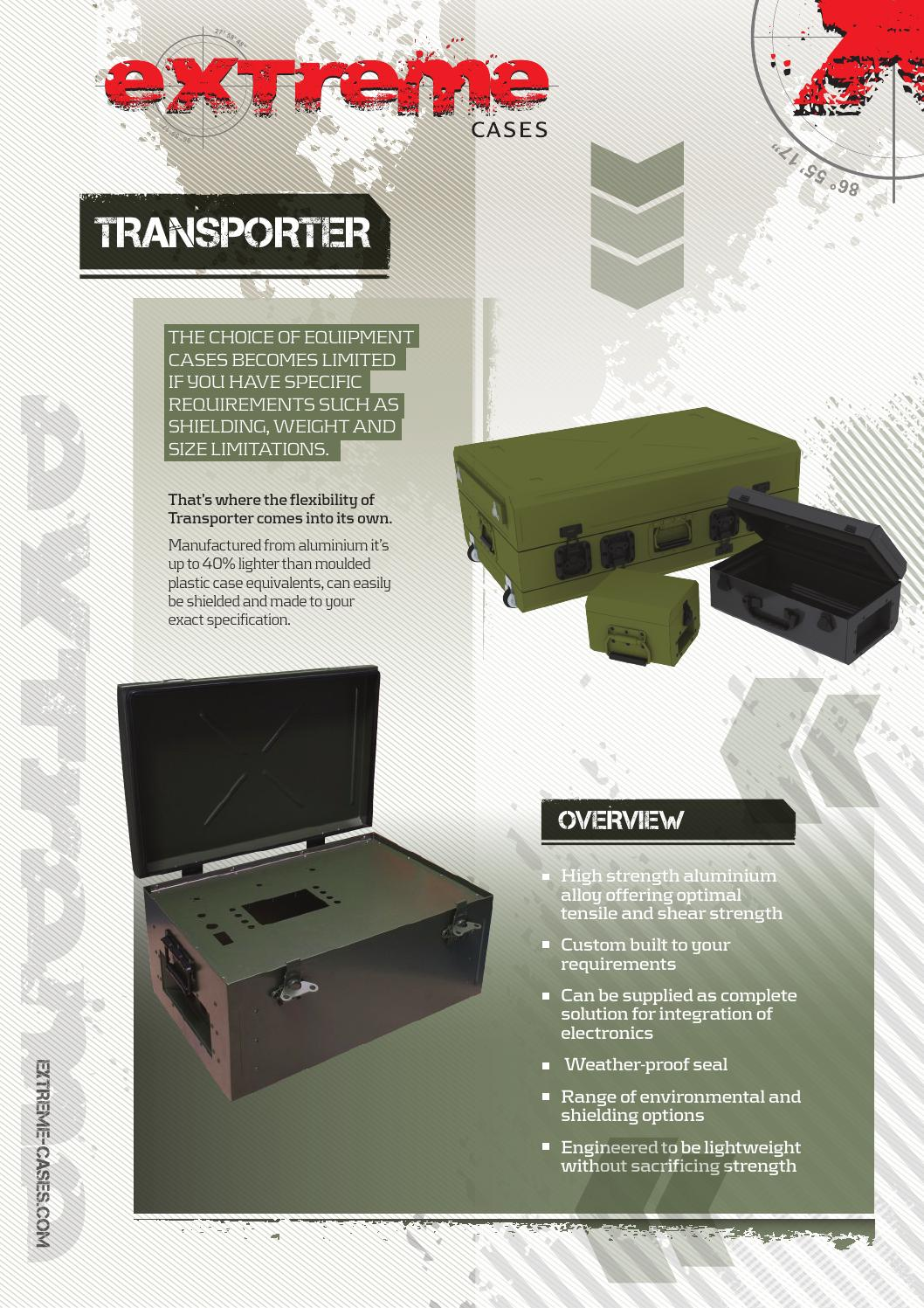 Extreme Cases Transporter by Hannah Bailey - issuu