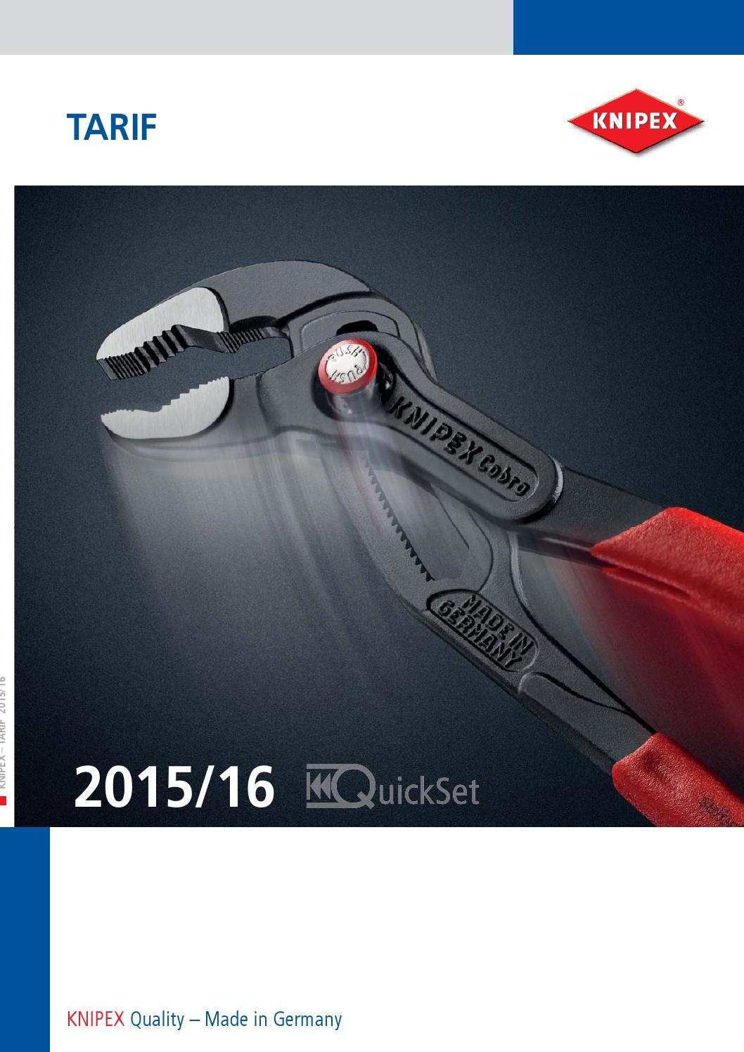 gain/ées en plastique 160 mm KNIPEX 27 01 160 Pince demi-ronde avec coupe-fils central pince pour t/él/éphone