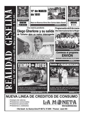 Semanario Realidad Geselina 886 by Semanario Realidad Geselina - issuu