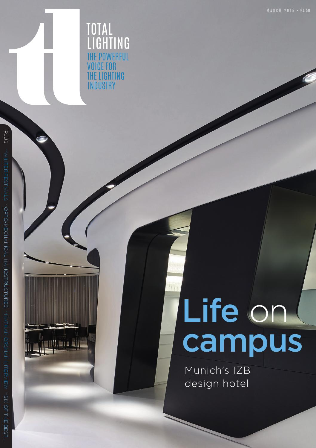 Total Lighting march 2015 by Total Lighting Magazine - issuu