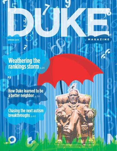 Duke Magazine Spring 2015 By Dukemagazine Issuu